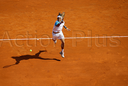 17.04.2011. David Ferrer (ESP) lost to  Rafael Nadal by 6-4 7-5 in the final of the 2011 Monte Carlo Masters.