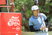 Pep Angles (ESP) in action during the first round of the Magical Kenya Open presented by ABSA played at Karen Country Club, Nairobi, Kenya. 14/03/2019<br /> Picture: Golffile | Phil Inglis<br /> <br /> <br /> All photo usage must carry mandatory copyright credit (&copy; Golffile | Phil Inglis)