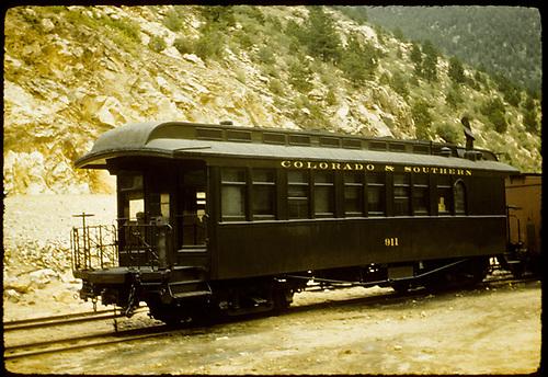 Colorado &amp; Southern coach #911.<br /> C&amp;S