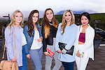 Grace O'Sullivan, Zoe Mulqueen, Leah Ryan, Michelle Hracov Inova Tam Lynch at the  Churchill GAA Fashion Show at Ballyroe Height Hotel on Thursday