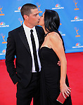 Matthew Fox & wife..  at The 62nd Anual Primetime Emmy Awards held at Nokia Theatre L.A. Live in Los Angeles, California on August 29,2010                                                                   Copyright 2010  DVS / RockinExposures