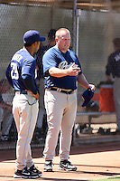 Pat Murphy - San Diego Padres - 2010 Instructional League. Murphy, former head coach at Arizona State University, is now an adviser with the Padres..Photo by:  Bill Mitchell/Four Seam Images..