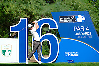 Chris Paisley (ENG) on the 16th during the 1st round of the DP World Tour Championship, Jumeirah Golf Estates, Dubai, United Arab Emirates. 15/11/2018<br /> Picture: Golffile | Fran Caffrey<br /> <br /> <br /> All photo usage must carry mandatory copyright credit (&copy; Golffile | Fran Caffrey)
