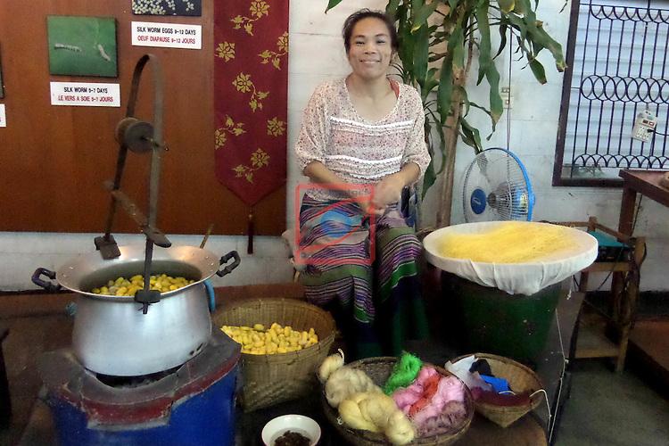Thailand Tour.<br /> Chiang Mai Umbrella Factory.