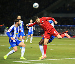 19.01.2020, OLympiastadion, Berlin, GER, DFL, 1.FBL, Hertha BSC VS. Bayern Muenchen, <br /> DFL  regulations prohibit any use of photographs as image sequences and/or quasi-video<br /> im Bild Marvin Plattenhardt (Hertha BSC Berlin #21), Dedryck Boyata (Hertha BSC Berlin #20),<br /> Robert Lewandowski (FC Bayern Muenchen #9)<br /> <br />       <br /> Foto © nordphoto / Engler