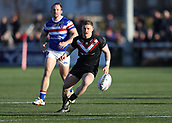 3rd February 2019, Trailfinders Sports Ground, London, England; Betfred Super League rugby, London Broncos versus Wakefield Trinity; Sam Davis of London Broncos in action