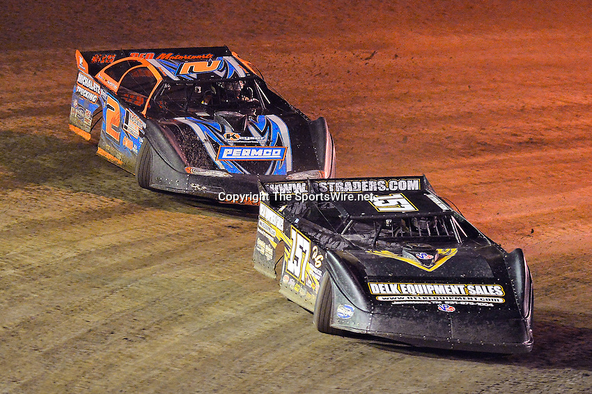 Feb 20, 2014; 7:51:46 PM;  Barberville, FL, USA;  World of Outlaws Late Model Series for 43rd Annual DIRTcar Nationals presented by Summit Racing Equipment at Volusia Speedway Park.  Mandatory Credit: (thesportswire.net)