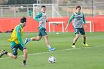 10.01.2020, Sportzentrum RCD Mallorca, Son Bibiloni, ESP, TL Werder Bremen -  Training Tag 07<br /> <br /> im Bild / picture shows <br /> <br /> Milot Rashica (Werder Bremen #07)<br /> Yuya Osako (Werder Bremen #08)<br /> <br /> Foto © nordphoto / Kokenge