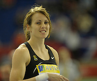 Photo: Ady Kerry/Richard Lane Photography.. Aviva European Trials and UK Championships, 15/02/2009..Kelly Sotherton in the shot put.