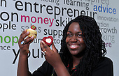 Lewa Thomas - Cupcake maker - photographed at Youth Enterprise Zone - Ladywell Business Park - Glasgow - 30.8.12 - 07702 319 738 - clanmacleod@btinternet.com - www.donald-macleod.com