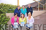 Students from Colaiste na Sceilge with smiles all round after completing English Paper I, pictured here front l-r:Kerry Ann O'Connell, Karen O'Neill, Katie O'Connell, back l-r: Bernadette Casey, Louise Curran & Marie O'Sullivan.