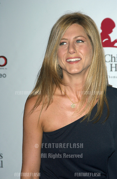 Actress JENNIFER ANISTON at the 2nd Annual Runway for Life celebrity fashion show benefitting the St. Jude's Children's Research Hospital and celebrating the DVD release of Chicago..Aug 19, 2003