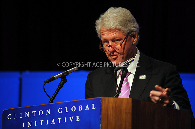 WWW.ACEPIXS.COM . . . . .....April 2, 2008. New York City.....Former U.S. President Bill Clinton speaks at the Clinton Global Initiative Mid-Year Meeting at the Nokia Theatre...  ....Please byline: Kristin Callahan - ACEPIXS.COM..... *** ***..Ace Pictures, Inc:  ..Philip Vaughan (646) 769 0430..e-mail: info@acepixs.com..web: http://www.acepixs.com