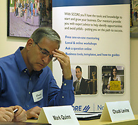 "Charles (Chuck) Levine, moderator of the Community Workshop hosted by SCORE and the Santa Rosa Metro Chamber entitled ""Going Forward After the Fires, Community Workshop Providing Advance and Guidance to Reinvigorate Your Business"", that took place on June 6, 2018 in Santa Rosa, CA thinks about points that SBA's Mark Quinn made about economic injury loans and the potential impact of micro loans on the process of recovering and rebuilding in the aftermath of the northern California 2017 fires."