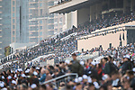 The crowd watch the Longines Hong Kong Cup (G1, 2000m) during the Longines Hong Kong International Races at Sha Tin Racecourse on December 10 2017, in Hong Kong, Hong Kong. Photo by Victor Fraile / Power Sport Images