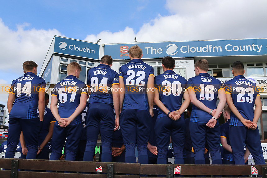 Essex players in NatWest Blast T20 kit during the Essex CCC Press Day at The Cloudfm County Ground on 5th April 2017