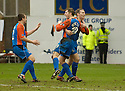 18/02/2006         Copyright Pic: James Stewart.File Name : sct_jspa05_dundee_utd_v_inverness.DENIS WYNESS IS CONGRATULATED AFTER HE SCORES THE SECOND FOR INVERNESS.Payments to :.James Stewart Photo Agency 19 Carronlea Drive, Falkirk. FK2 8DN      Vat Reg No. 607 6932 25.Office     : +44 (0)1324 570906     .Mobile   : +44 (0)7721 416997.Fax         : +44 (0)1324 570906.E-mail  :  jim@jspa.co.uk.If you require further information then contact Jim Stewart on any of the numbers above.........