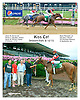 Kiss Cat winning at Delaware Park on 8/10/15