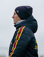 20191101 - Tubize: Belgian coach Aline Zeler pictured during the international friendly match between Red Flames U16 (Belgium) and Norway U16 on 1 November 2019 at Belgian Football Centre, Tubize. PHOTO:  SPORTPIX.BE   SEVIL OKTEM