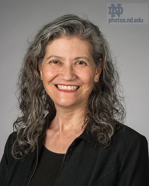 May 14, 2018; Martina Lopez. (Photo by Barbara Johnston/University of Notre Dame)
