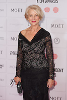 Helen Mirren arriving for the Moet British Independent Film Awards 2014, London. 07/12/2014 Picture by: Alexandra Glen / Featureflash