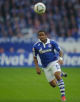 Fussball Bundesliga Saison 2011/2012 6. Spieltag FC Schalke 04 - FC Bayern Muenchen Jefferson FARFAN (Schalke).
