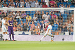 Real Madrid's Borja Mayoral goal during XXXVIII Santiago Bernabeu Trophy at Santiago Bernabeu Stadium in Madrid, Spain August 23, 2017. (ALTERPHOTOS/Borja B.Hojas)