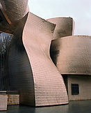 SPAIN, Bilbao, exterior of Guggenheim art museum