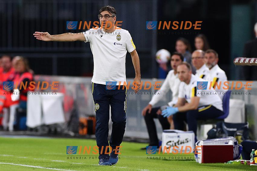 Ivan Juric coach of Verona gestures<br /> Napoli 19-10-2019 Stadio San Paolo <br /> Football Serie A 2019/2020 <br /> SSC Napoli - Hellas Verona FC<br /> Photo Cesare Purini / Insidefoto