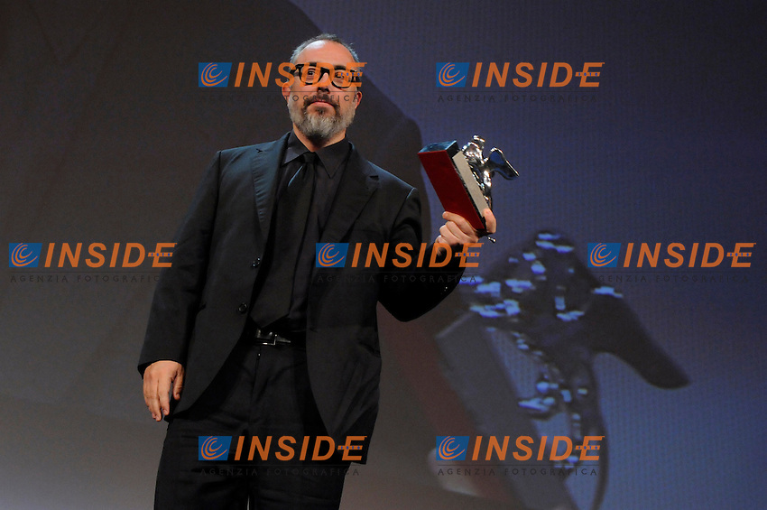 """- """"67 Mostra Internazionale D'Arte Cinematografica"""". Saturday,2010 September 11, Venice ITALY....- In The Picture: The film Alex de la Iglesia,  for Best Director, at the Awards of the 67th Venice Film Festival. ......Photo STEFANO MICOZZI"""