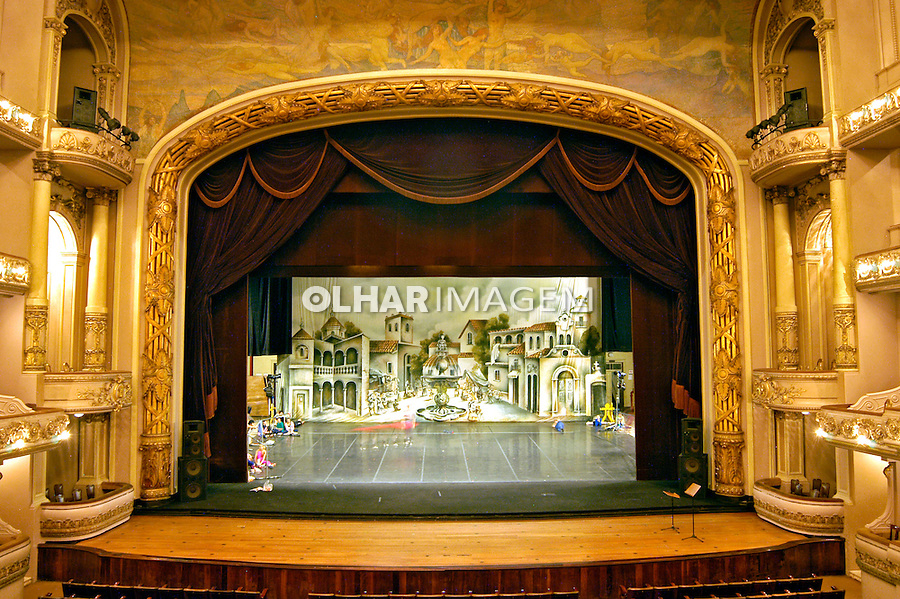 Teatro Municipal do Rio de Janeiro. 2007. Foto de Renata Mello.