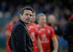 Dejection for Bath coach Mike Ford - European Rugby Champions Cup - Bath Rugby vs Toulouse - Recreation Ground Bath - Season 2014/15 - October 25th 2014 - <br /> Photo Malcolm Couzens/Sportimage
