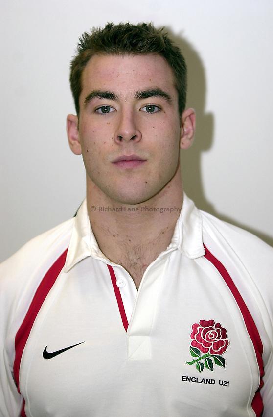 England Under 21's..Photo. Richard Lane..14-2-2002.Ian Clarke.