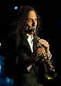 Kenny G performing with the Pacific Symphony on February 15th, 2013.