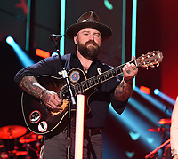 NASHVILLE, TN - JUNE 5: Zac Brown of Zac Brown Band performs on the 2019 CMT Music Awards at Bridgestone Arena on June 5, 2019 in Nashville, Tennessee. (Photo by Frank Micelotta/PictureGroup)