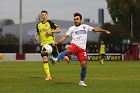 Sam Deering of Dagenham during Dagenham & Redbridge vs Aldershot Town, Vanarama National League Football at the Chigwell Construction Stadium on 16th November 2019
