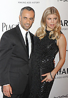 "Francisco Costa and Stacy Ann ""Fergie"" Ferguson in Calvin Klein Collection attending amfAR's third annual Inspiration Gala at the New York Public Library in New York, 07.06.2012..Credit: Rolf Mueller/face to face /MediaPunch Inc. ***FOR USA ONLY*** NORTEPHOTO.COM"