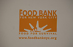 Poster at the Food Bank for New York City as they present the 8th Annual Can-Do Awards Dinner 2010 on April 20, 2010 at Pier Sixty at Chelsea Piers, New York City, New York. (Photo by Sue Coflin/Max Photos)