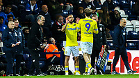 Leeds United's Kemar Roofe comes on for Patrick Bamford<br /> <br /> Photographer Alex Dodd/CameraSport<br /> <br /> The EFL Sky Bet Championship - Preston North End v Leeds United -Tuesday 9th April 2019 - Deepdale Stadium - Preston<br /> <br /> World Copyright &copy; 2019 CameraSport. All rights reserved. 43 Linden Ave. Countesthorpe. Leicester. England. LE8 5PG - Tel: +44 (0) 116 277 4147 - admin@camerasport.com - www.camerasport.com