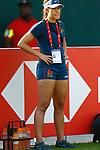 Ines Alvarez, Womens Sevens on 29 November, Dubai Sevens 2018 at The Sevens for HSBC World Rugby Sevens Series 2018, Dubai - UAE - Photos Martin Seras Lima