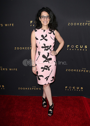 "HOLLYWOOD, CA - March 27: Angela Workman, At The Premiere Of Focus Features' ""The Zookeeper's Wife""  At The ArcLight Hollywood In California on March 27, 2017. Credit: FS/MediaPunch"
