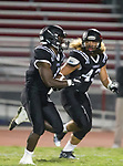 Lawndale, CA 09/29/17 - Jordan Wilmore (Lawndale #1) and \l43\ in action during the Torrance vs Lawndale CIF Varsity football game at Lawndale High School.   Lawndale defeated Torrance 42-0.