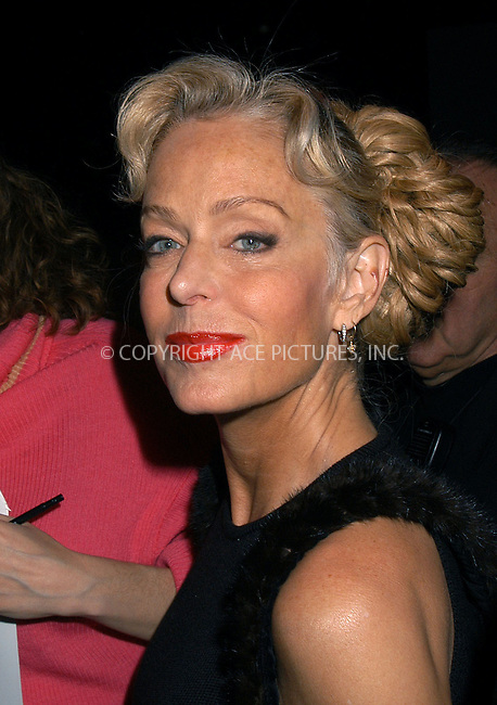 Zang Toi fashion show. Pictured Farrah Fawcett. New York, February 13, 2004. ..Please byline: AJ SOKALNER/ACE Pictures.   ..*PAY-PER-USE*      ....IMPORTANT: Please note that our old trade name, NEW YORK PHOTO PRESS (NYPP), is replaced by new name, ACE PICTURES. New York Photo Press and ACE Pictures are owned by All Celebrity Entertainment, Inc.......All Celebrity Entertainment, Inc:  ..contact: Alecsey Boldeskul (646) 267-6913 ..Philip Vaughan (646) 769-0430..e-mail: info@nyphotopress.com