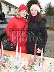 Sonya and Rebecca McArdle at the Christmas fair in the Market house Duneer. Photo:Colin Bell/pressphotos.ie