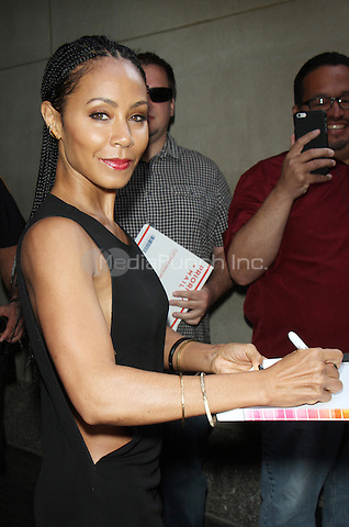 NEW YORK, NY - MAY 11: Jada Pinkett Smith pictured at NBC's Today Show in New York City on May 11, 2016. Credit: RW/MediaPunch