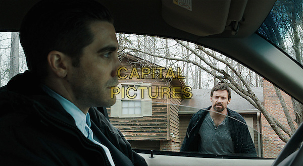 Jake Gyllenhaal, Hugh Jackman<br /> in Prisoners (2013) <br /> *Filmstill - Editorial Use Only*<br /> CAP/NFS<br /> Image supplied by Capital Pictures