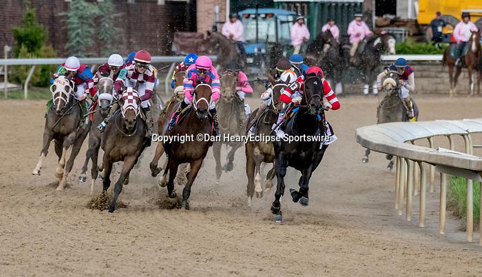 May 3, 2019 : Serengeti Empress, #13, ridden by Jose L Ortiz, wins the Longines Kentucky Oaks on Kentucky Oaks Day at Churchill Downs on May 3, 2019 in Louisville, Kentucky. Dan Heary/Eclipse Sportswire/CSM