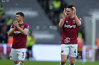 Declan Rice of West Ham United At the Final Whistle Applause Fan's during West Ham United vs Arsenal, Premier League Football at The London Stadium on 12th January 2019