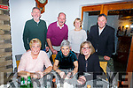 Kathy Scannell from Lisanearla, Tralee celebrating her birthday in Bella Bia on Saturday night..<br /> Seated l-r, Joan Baynham (Castlemaine), Kathy Scannell and Ann Sheehan (Tralee).<br /> Back l-r, Denis Costello, Gerard Baynham, Elizabeth Costello and Johnny Sheehan.