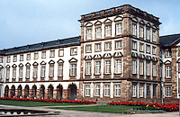 Mannheim: Wing of Palace. Baroque design.